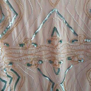 Beaded Dress As U Wish NWT Size L
